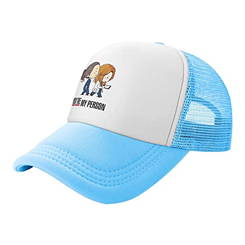 Sombrero de malla infantil Anatomía gris - You're My Personson Trucker Sombreros