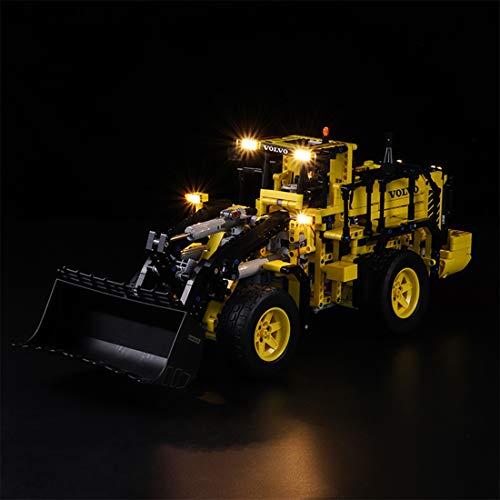 TETAKE Licht Beleuchtung LED Beleuchtungsset für Lego Technic 42030 Volvo L350F Radlader (Nicht Enthalten Lego Modell)