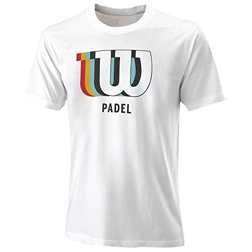 Wilson Camiseta Modelo M Padel Blur W TCH tee WH Marca