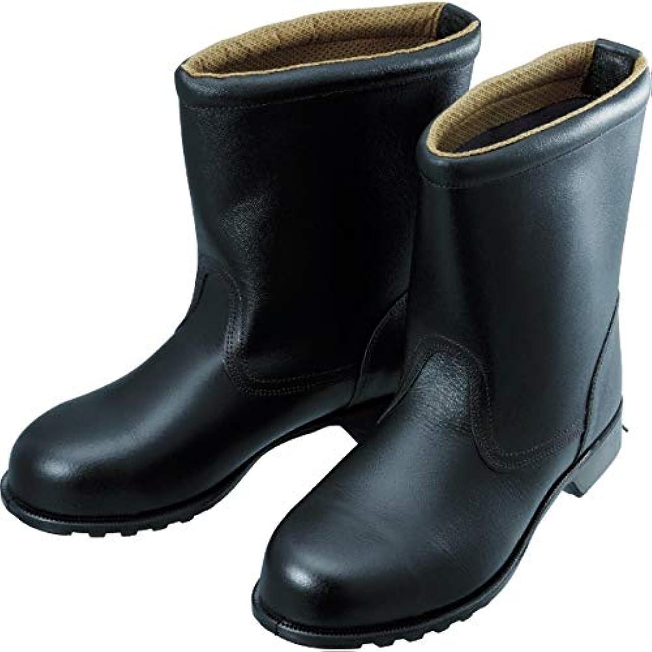 物理的に雨の方向シモン 安全靴 半長靴 FD44 26.0cm FD44-26.0