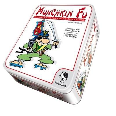 Pegasus Spiele 17143G - Munchkin Fu (Metalldose)