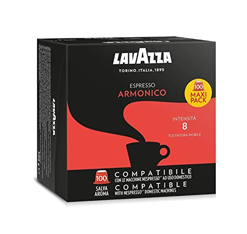 Lavazza Kapsel Espresso Armonico 100 Kapseln, 1er Pack (1 x 500 g)
