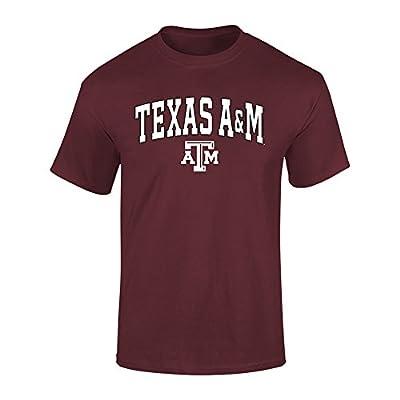 Elite Fan Shop Texas A&M Aggies Tshirt Varsity Maroon - M