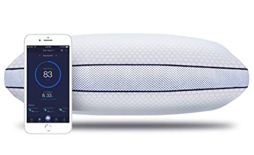 iSense Sleep Smart Pillow - Adjustable Height w/Sleep Tracking - 120-Night Comfort Promise Included(Queen)