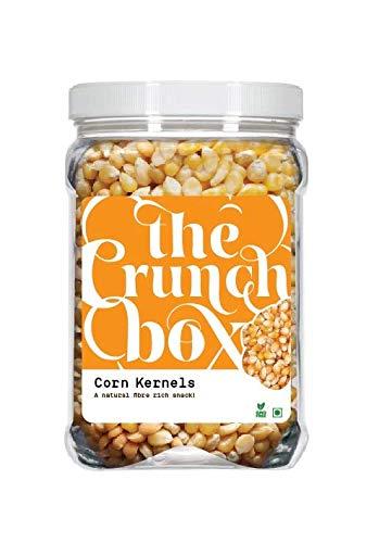 The Crunch Box Golden Popping Corn (Gourmet Popcorn Kernels) 1Kg