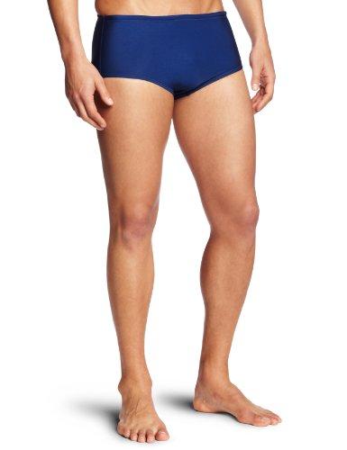 Speedo Men's Swimsuit Brief PowerFlex Eco Dive Solid,Navy,42