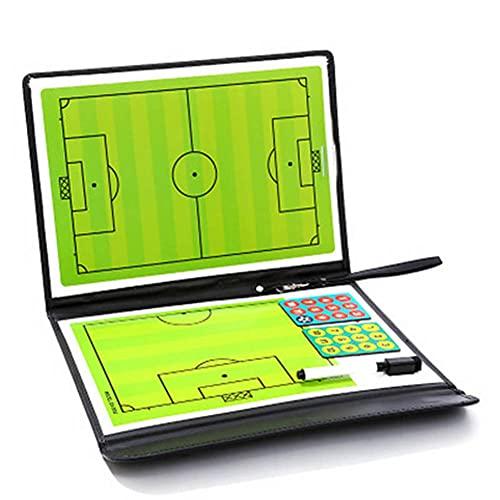 lefeindgdi - Tavola tattica da allenamento per calcio da calcio, 2,5 cm, in pelle