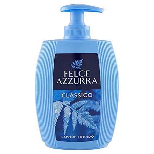 Felce Azzurra Flüssigseife Classico - Seifenspender mit traditionellen klassischen Duft von Azzurra - 1er Pack (1 x 300 ml)