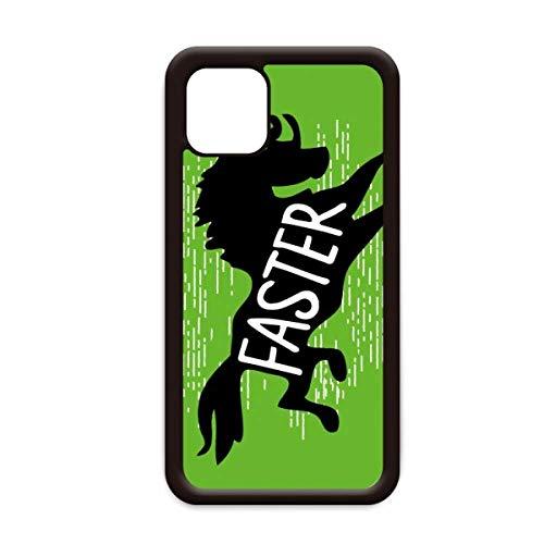 Zwart Paard Dier Silhouette Natuurlijke voor Apple iPhone 11 Pro Max Cover Apple mobiele telefoonhoesje Shell, for iPhone11
