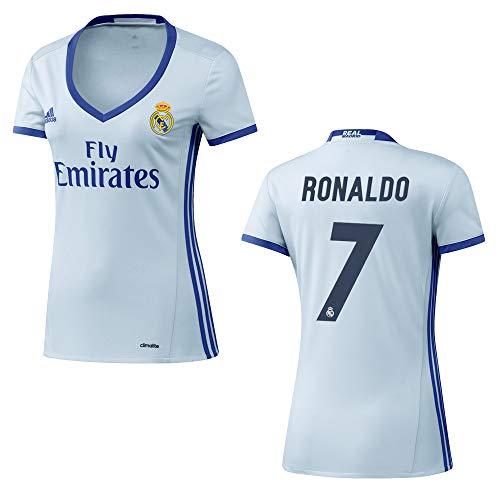 adidas REAL Madrid Trikot Home Frauen 2016/2017 - Ronaldo 7, Größe:L