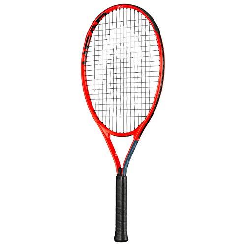 Head Unisex-Jugend-Tennisschläger, Grau/Orange, 63,5 cm