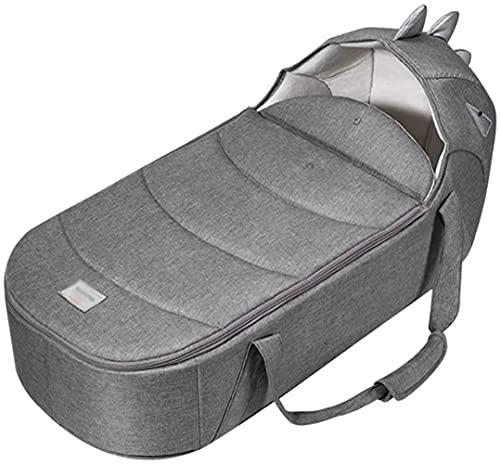 angelHJQ Cama plegable portátil de viaje, diseño de colchón 3D, tapa extraíble, impermeable y resistente a la suciedad, adecuada para 0 – 12 meses, 73 x 34 x 36 cm