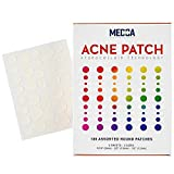 Acne Pimple Patch - Hydrocolloid Bandages (180 Count) Absorbing Covers in Two Universal Sizes, Acne Spot Treatment Care for Face & Skin Spot Patch Conceals Acne, Reduces Pimples and Blackheads
