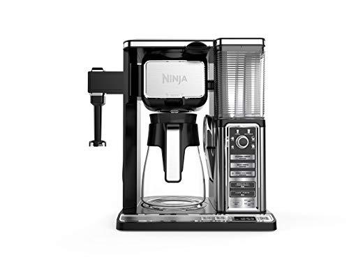 Ninja CF097 Coffee Bar, Black/Silver (Renewed)