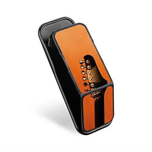 DeinDesign CLCKR Smartphone Halterung Ausziehbarer Griff Fingerhalter Ständer Finger-Halterung Handyhalterung Schwarz Gitarre