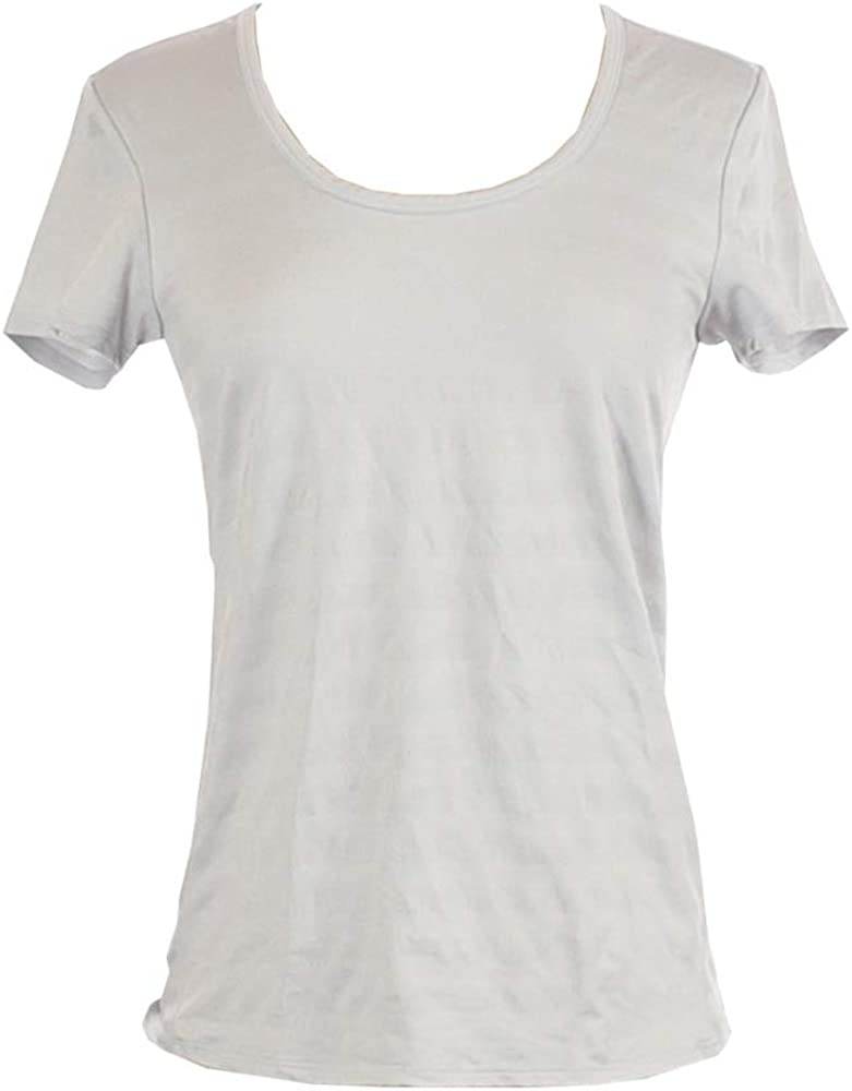 Active Life (5-Pack) Womens S/S Performance Moisture Wicking Tee, Lt. Grey