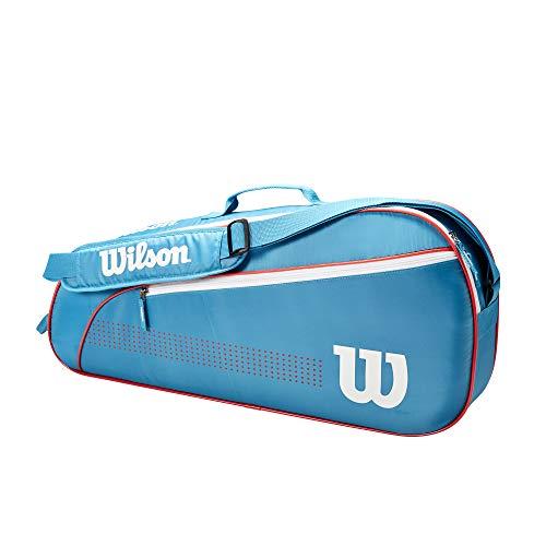 Wilson JUNIOR 3 PK, 3 Racchette, Blu