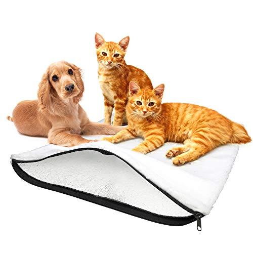 BellMietz® Manta autocalentable para gatos [hecha a mano en Europa] – 45...