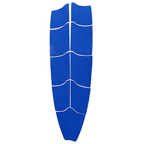 MagiDeal 9Pcs/Set Planche de Surf Anti-dérapant Pont Complet Pads Traction Kitesurf Arrière Coussin Poignées Grips Pad