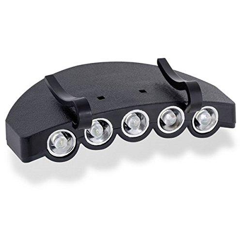 Kraftwerk 32060 LED-baseball-mutslicht, zwart