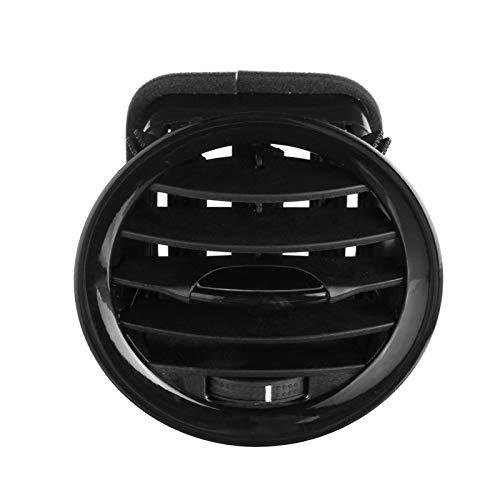 RJJX Piezas de Salida de la Rejilla de la Rejilla de ventilación Duradera Redonda fácil Instalar Interior Uso automático Profesional automóvil Ajustable Ajuste for Opel