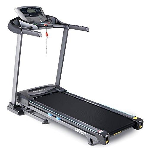 Marcy Folding Motorized Treadmill/Electric Running Machine with Auto Incline JX-663W, 13.00 x 68.00 x 159.00 inches JX-663SW