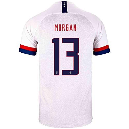 Nike USA Youth Home Soccer Jersey- Morgan #13 (XS) White