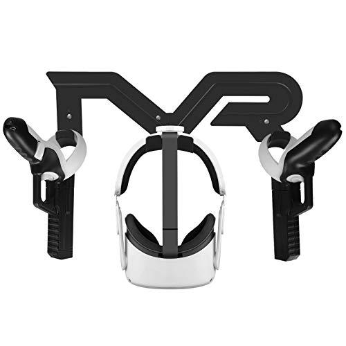 Arma del Juego de VR+Soporte de Pared VR para Oculus Quest 2,Soporte d