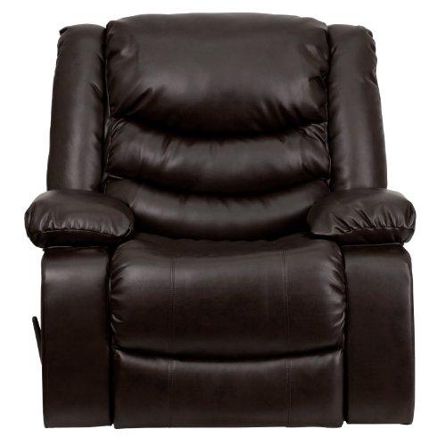 Flash Furniture Plush Leather Lever Rocker