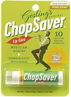 8 Pack - ChopSaver All-Natural Lip Balm 0.15 oz