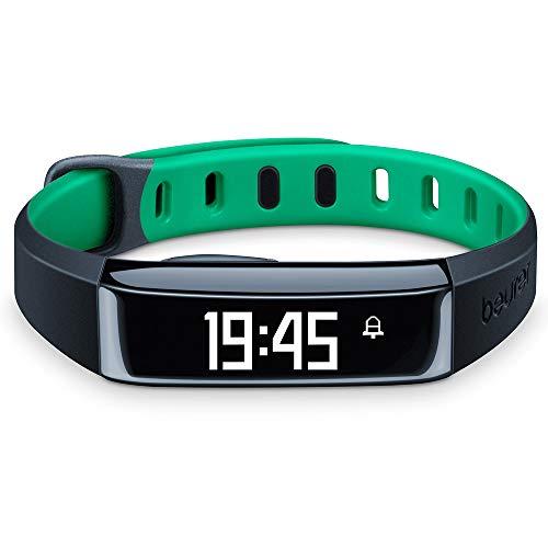 Beurer AS 80 C Aktivitätssensor (Grün, Messung Anzahl der Schritte, zurückgelegte Strecke, Kalorienverbrauch, Schlafanalyse, mit Bluetooth 4.0 und kostenloser HealthManager App)