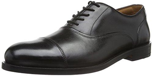 Clarks Coling Boss, Zapatos de Cordones Derby para Hombre, Negro