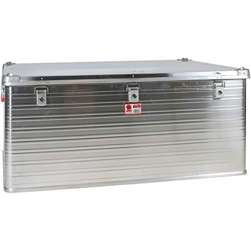 JUMBO Alluminium Transport-Box Alu 415 Liter ALU415 L 1192 x B 790 x H 517 mm Kiste Truhe Lager-Box Alubox