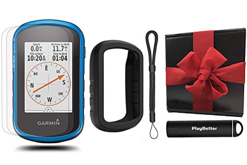 Buy Cheap Garmin eTrex Touch 25 GPS Gift Box Bundle | with PlayBetter Portable Charger, Lanyard, Sil...