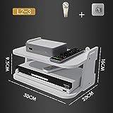 HJJ Los estantes flotantes Creativo/montadas en la Pared Medios Caja/módem/Cable Set-Top Caja de la Consola/Consola/TV/Reproductor de DVD/Consola de Juegos/pequeños Productos electrónicos