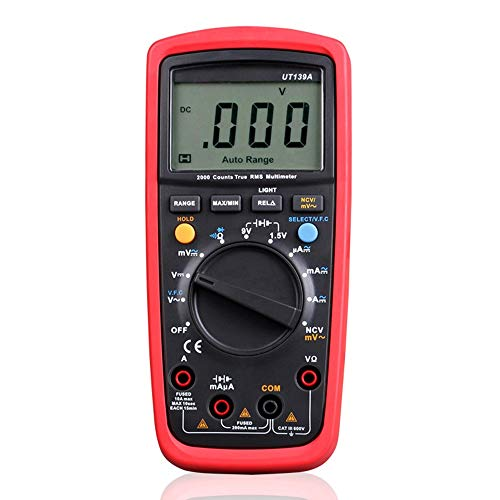 Multimeter Elektrisches Multimeter UT139A UT139B UT139C Digitales Multimeter Automatische Reichweite AC DC Volt Amperemeter True RMS Multimeter Handheld Elektronisches Multimeter