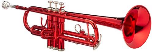 Cherrystone 4260180884821 tolle Bb Trompete mit Koffer/Zubehör rot
