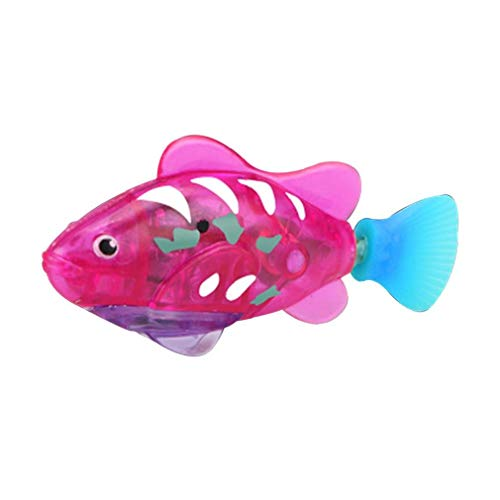 Natación pez robot, activado y agua Mágico niños de juguete electrónico de regalo infantil, Mini realista robótica pescado, la batería acuática Desarrollado novedad de los pescados Juguetes