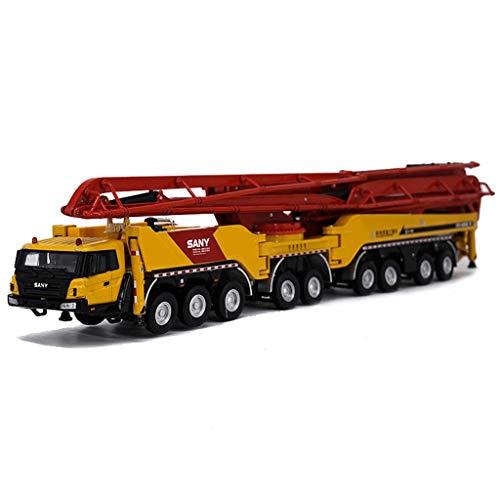 HXGL-Modelo de coche Die Minería Modelo Camión Bomba De Hormigón Mo