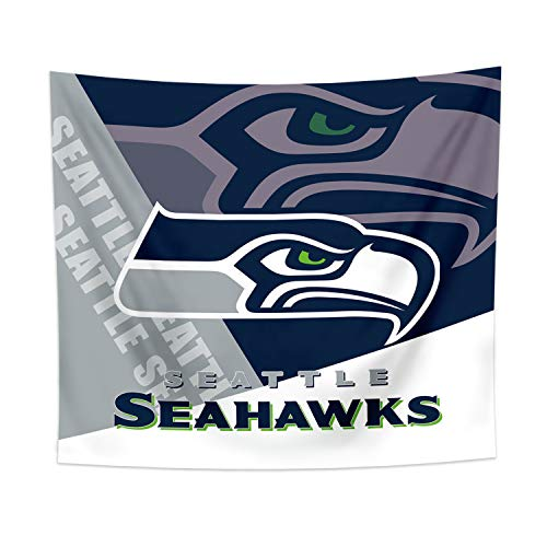 Gloral HIF Seattle Seahawks Tapestry Wall Decor Room Decal Blanket Decorations 50x60 Inches