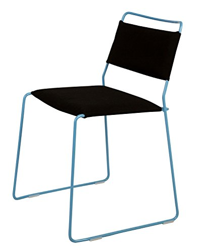 OK Design One Wire Chaise Bleu – Noir – 2R – Dépliable, Rolff OG Rasmus Fasting