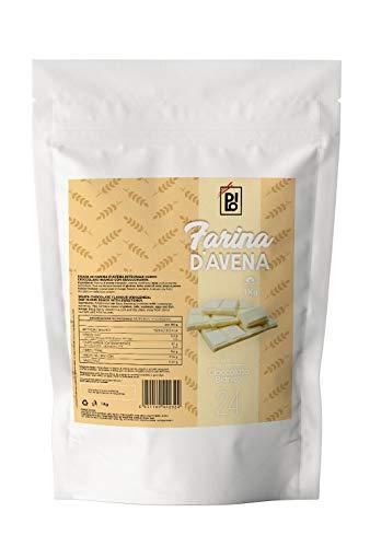 DILO Farina di Avena Aromatizzata Cioccolato Bianco 1kg