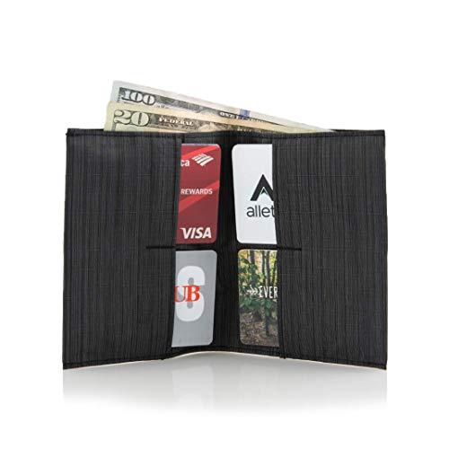 Allett Slim Nylon Original Wallet - Black