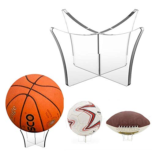 Sue-Supply Transparenter Acryl-Ausstellungsstand Für Fußball-Basketball-Volleyball-Bowlingkugel