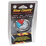 2' River Country Professional Series Adjustable Grill & Smoker Thermostat Thermometer Gauge
