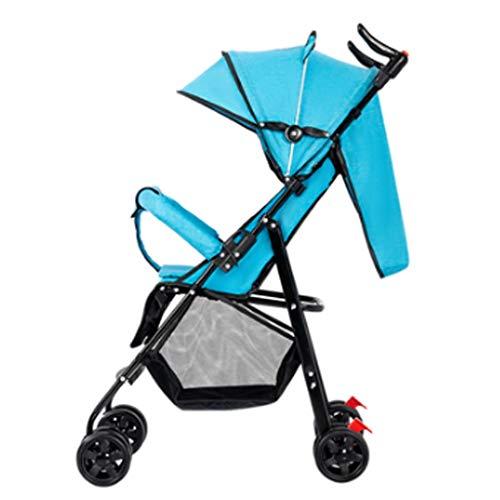 LMJ Kinderwagen buggys Kinderwagen-Kinderwagen-Puppe Spaziergänger Faltbare mit schwenkbarer Räder Und Korb,...