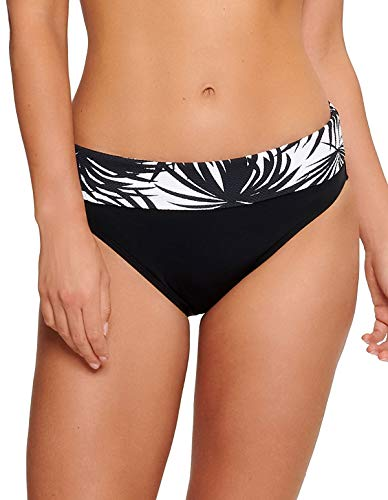 LingaDore 5101BF-239 Women's Eivi Black Palm Print Bikini Bottom