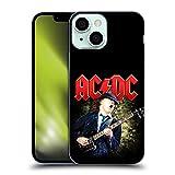 Head Case Designs Licenza Ufficiale AC/DC ACDC Angus Young Chitarra Solo Cover in Morbido Gel Compatibile con Apple iPhone 13 Mini