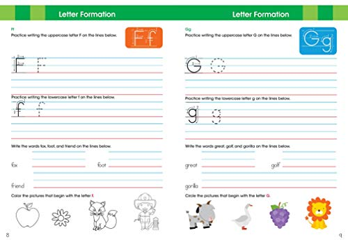 Ready to Learn: First Grade Writing Workbook