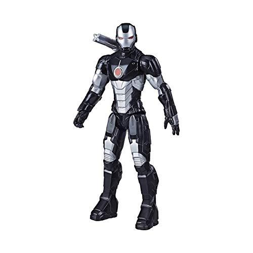 XILALA Super hero figure, KO Avengers War Machine Black Iron Man movable model ornament 6.6 inches Model toys.